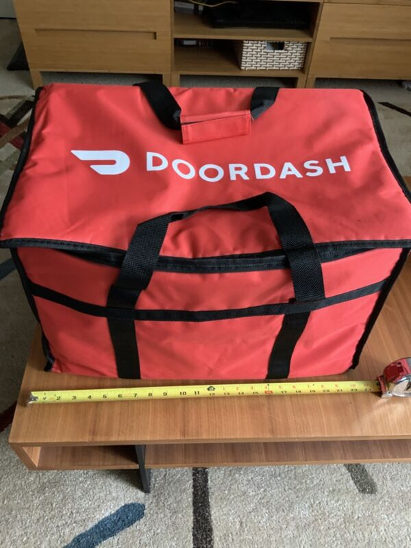 """DoorDash 22""""W X 13""""H X 13"""" D Insulated Catering Bag """"NEW"""""""