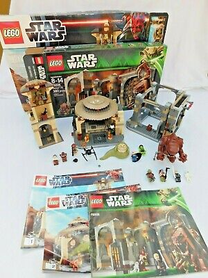 Lego Star Wars Jabba's Palace (9516) and Rancor Pit (75005) - 100% COMPLETE