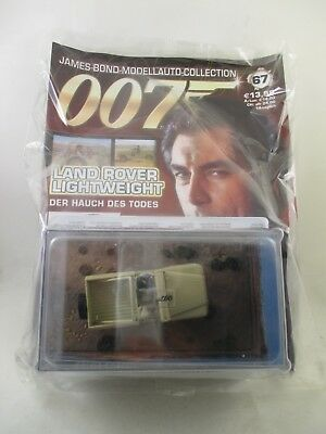 Eaglemoss - James Bond 007 Collection - Ausgabe 67 - Land Rover Lightweight  OVP