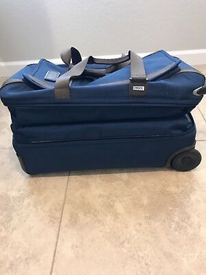 Tumi 2 Wheeled Expandable Carry-on Duffle, Blue