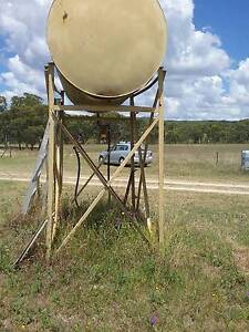 Farm diesel fuel tank with outlet and stand Bundarra Uralla Area Preview