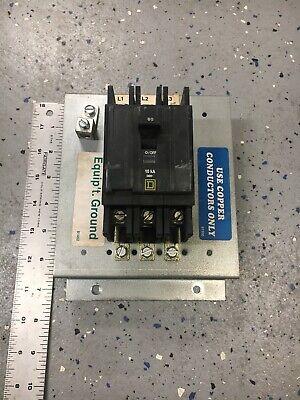 Square D Qou360 3 Pole 60a Circuit Breaker Din Rail Type 60 Amp With Bracket