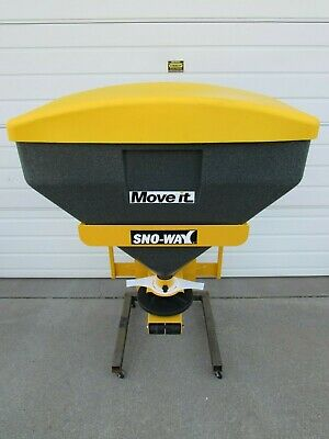 New Snoway Sno-way Poly Tailgate Salt Spreader Kit 9 Cubic Ft - 2 Receiver