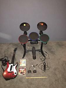 Guitar Hero + Band Kit for PS3 / Playstation 3 Darch Wanneroo Area Preview