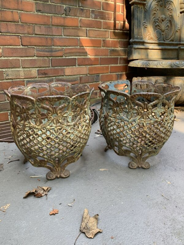 Victorian Planters -Pair