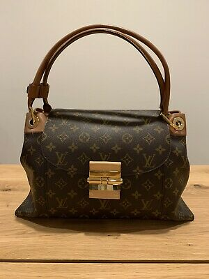 louis vuittons handbags authentic leather m40580