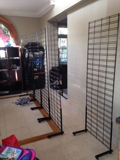 Mesh Wall frame racks stands with arms Hamilton Brisbane North East Preview