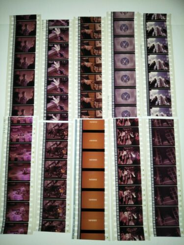Tommy (1975) The Who 10 x 35mm Genuine Film Cell Cells Strips Movie Cine Reel B