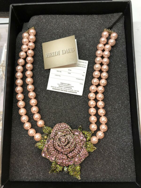HEIDI DAUS DISNEY BEAUTY AND THE BEAST NECKLACE