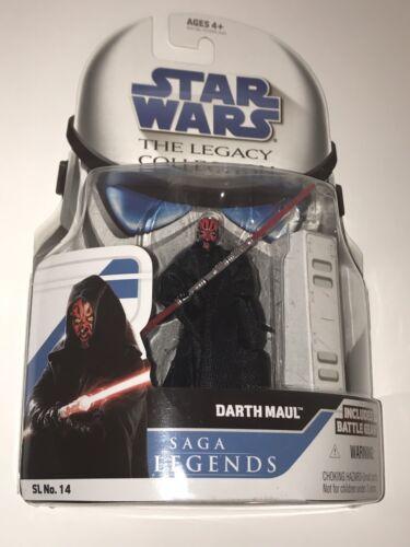 Star Wars Legacy Collection Darth Maul 2008 SL 14 MOC - $14.96