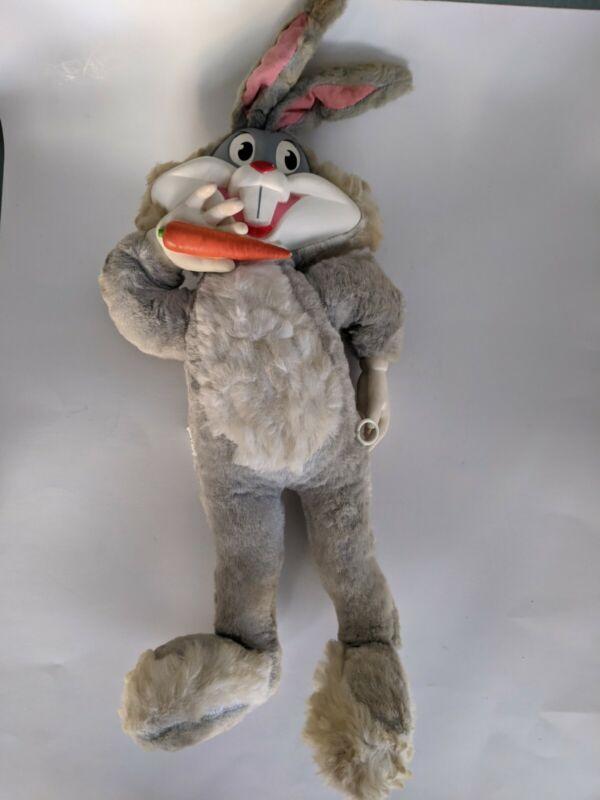 Vintage 1964 Mattel Bugs Bunny Talking Plush Doll Pull String - Still Talks