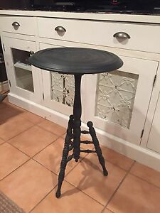 Antique wooden accent table