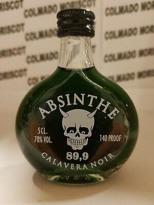 ABSENTA CALAVERA NOIR 5cl 89,9 miniatura mignonette minibottle flaschen ABSINTHE
