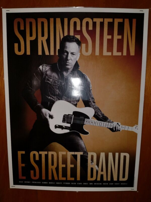 Bruce Springsteen - High Hopes - Tour Poster