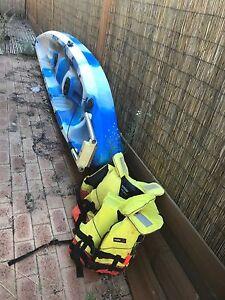 Fishing kayak and 4hp 4stroke outboard motor Yangebup Cockburn Area Preview