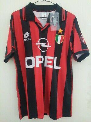 CAMISETA  AC MILAN RETRO 1996 Size M Shirt maglia