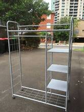 Clothe Rack with shelves on wheels Chatswood Willoughby Area Preview