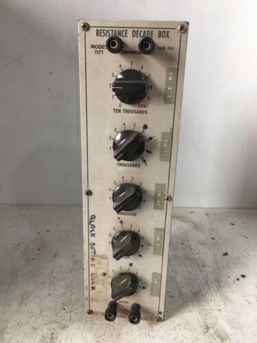Model 1171 Resistance Decade Box Vintage Ham Radio