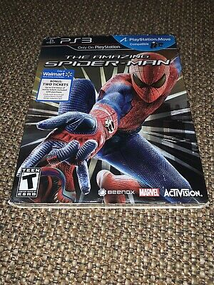 The Amazing Spider-Man (Sony PlayStation 3, 2012) PS3 - Brand New & Sealed