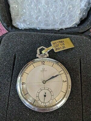 Excellent Condition Antique / Vintage Omega pocket watch with Sector Dial