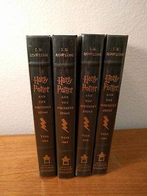 Lof of 4 Harry Potter and the Sorcerers Stone COLLECTORS EDITION 1st Ed NEW