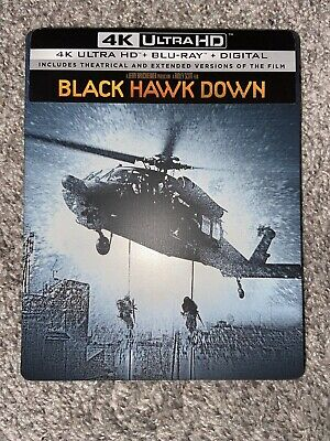 Black Hawk Down (2019, 4K UHD, Blu-ray) BEST BUY  STEELBOOK *NO