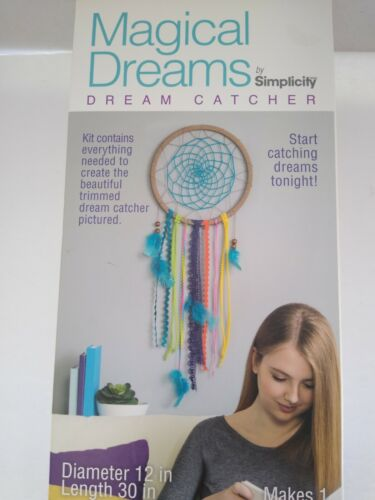 Magical Dreams Dream Catcher Simplicity craft kit TEAL SEALED