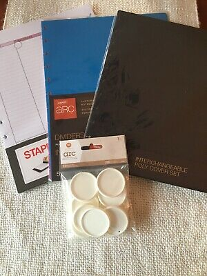 Arc Notebook- Cover Calendar Pages Dividers And Discs