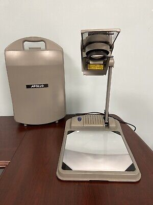 Apollo Ventura Portable Overhead Transparency Projector Model 4000 Needs Bulb