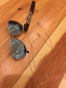 Juniors Accessories Lot - Sunglasses and Jewelry