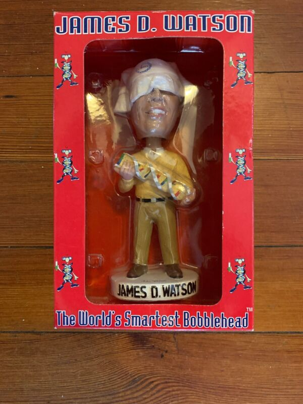 Signed James D. Watson Bobblehead