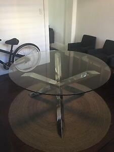 NICK SCALI MODERN GLASS TABLE Surry Hills Inner Sydney Preview