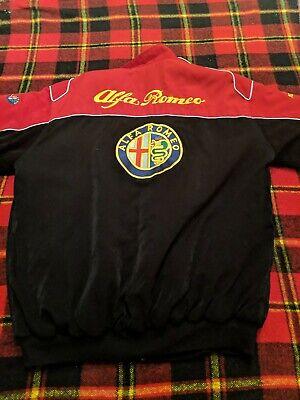 ALFA ROMEO -  RED/BLACK - JACKET sz L Alfa Romeo Jacket
