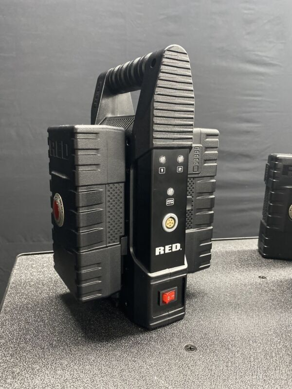 Red Digital Cinema Brick Charger - Mint Condition