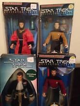 "10"" Old Star Trek Figures Albert Park Charles Sturt Area Preview"