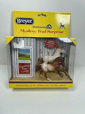 Breyer Stablemate Mystery Foal Surprise Appaloosa & Warmblood 5938-5 1:32 scale