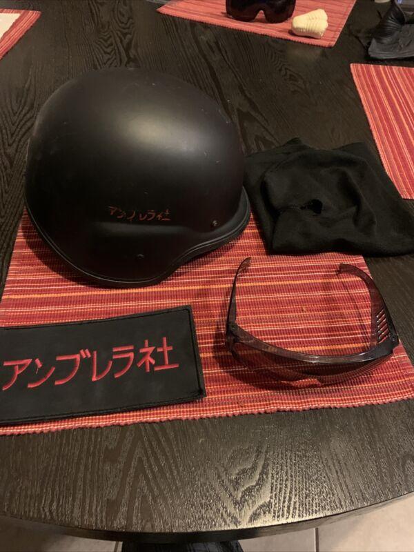 Resident Evil: Afterlife Umbrella Trooper Helmet, Balaclava,Glasses, Large Patch