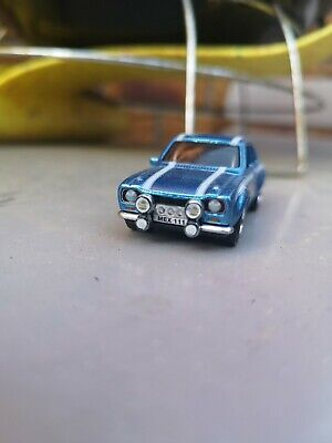 Hot Wheels Ford Escort Rs1600 Mexico Real Riders