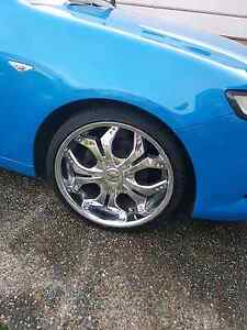 """20"""" 245/30/20 set of 4 rims and tyres Ormeau Gold Coast North Preview"""