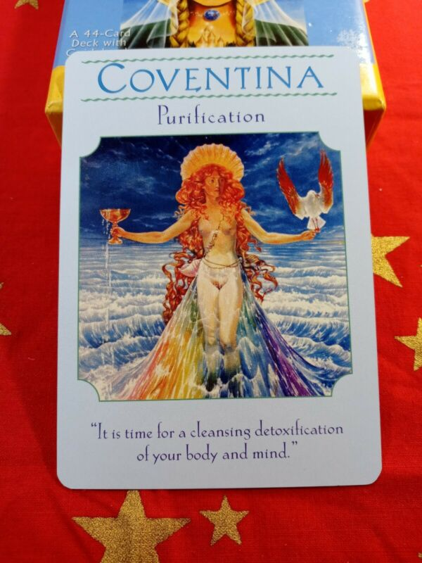 Coventina - Single Card Replacement - Authentic Goddess Guidance Doreen Virtue