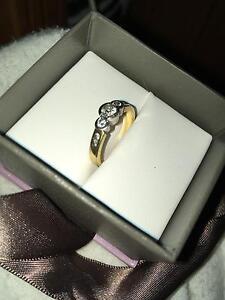 18ct Diamond Engagement/dress ring Balga Stirling Area Preview