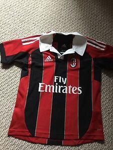 AC Milan soccer jersey for kids