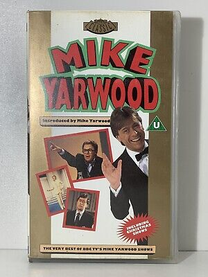 MIKE YARWOOD - THE VERY BEST OF 1990 VHS VIDEO *RARE* BBC SHOWS BRITISH (Best British Comedy Shows)