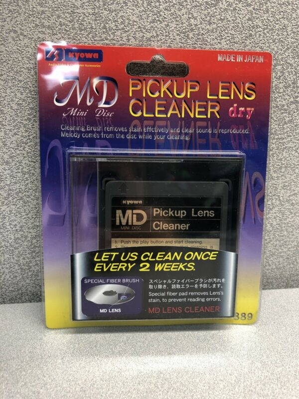 Kyowa Mini Disc Pickup Lens Cleaner In Package - Free Shipping