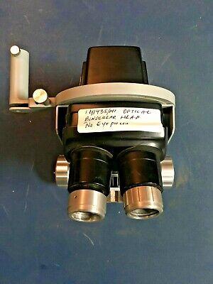 Optical Binocular Head For Microscopes Or Cryostat Etc 141438mt