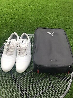 Puma Ignite Golf Shoes Men's - UK 9.5 & Puma Shoe Bag - RRP £119
