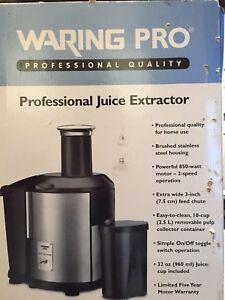 Professional Juice Extractor (Waring Pro JEX450)
