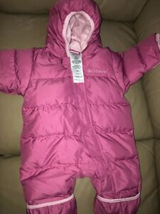 Infant Girls Columbia Snowsuit