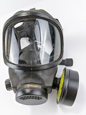 Msa Phalanx Policemilitary Gas Mask With Carrier And Filter Size Large Shtf