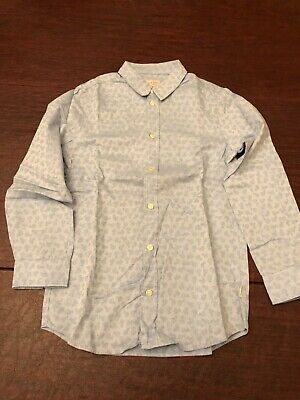 Paul Smith Junior Boys Shirt Size 8, Light Blue with Horse Design